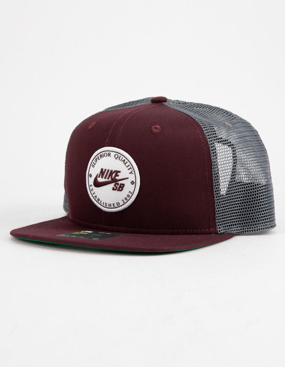 Lyst - Nike Pro Cap Patch Burgundy Mens Trucker Hat for Men ad82b7424adf