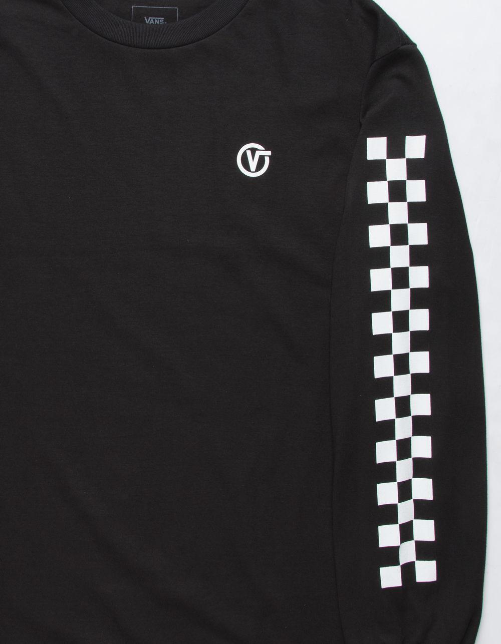 94de616ea41115 Lyst - Vans Classic Circle V Mens T-shirt in Black for Men