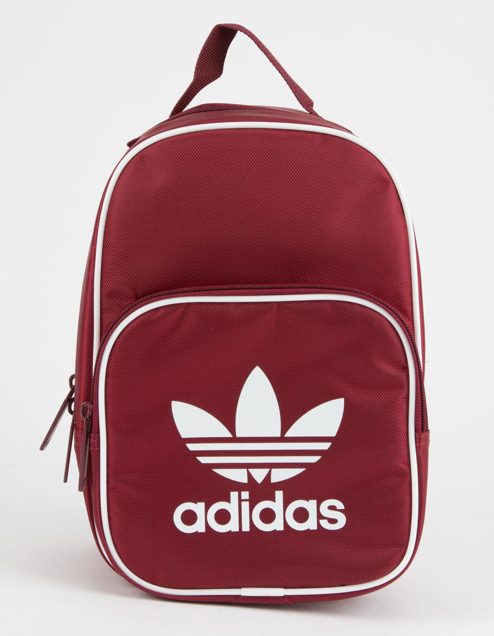5caabf38306a ... Adidas - Red Originals Santiago Burgundy Lunch Bag - Lyst. View  fullscreen reputable site 9640b ...