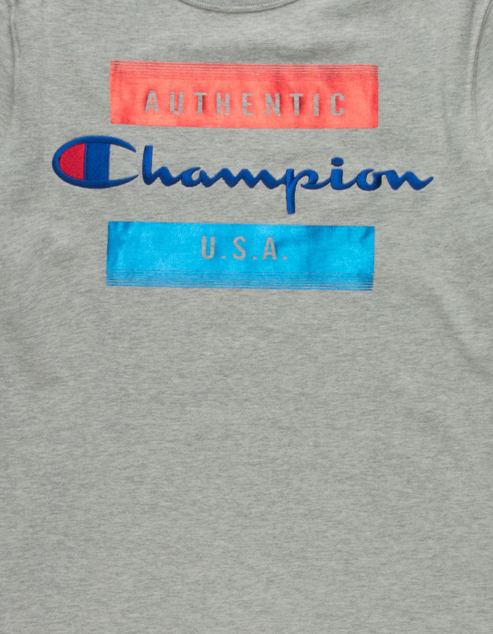 ec351eef1706 Lyst - Champion Block Script Mens T-shirt for Men