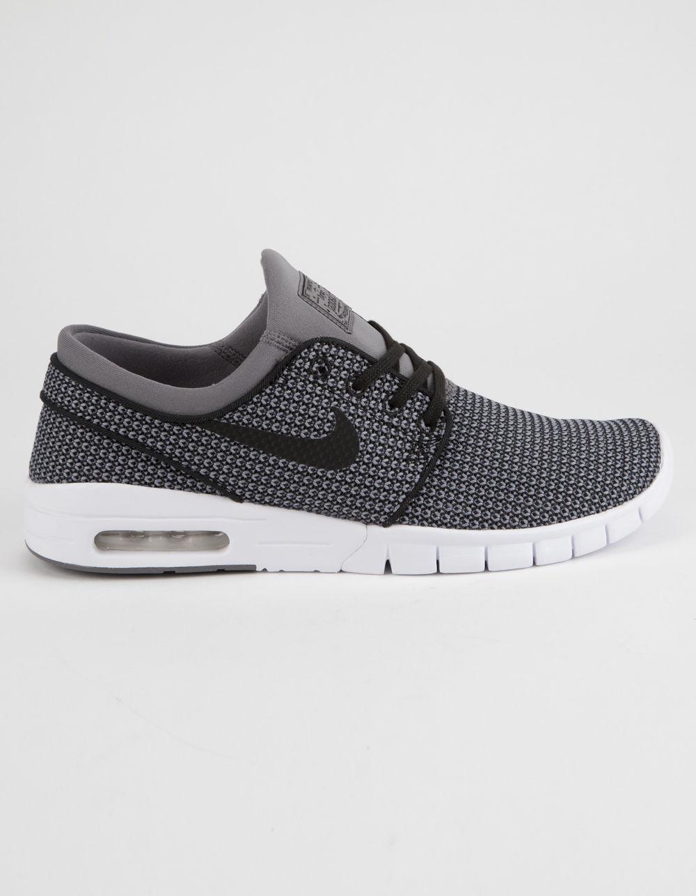 2cdcdef59ed58 Lyst - Nike Stefan Janoski Max Gunsmoke White   Black Shoes in Gray ...