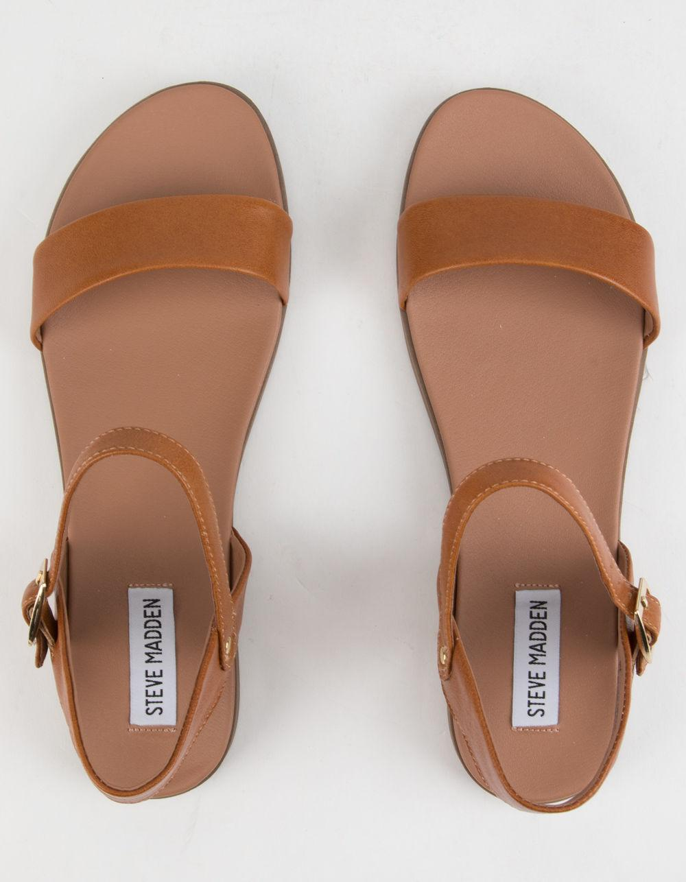 6f4921fc13f Lyst - Steve Madden Dina Tan Womens Sandals in Brown