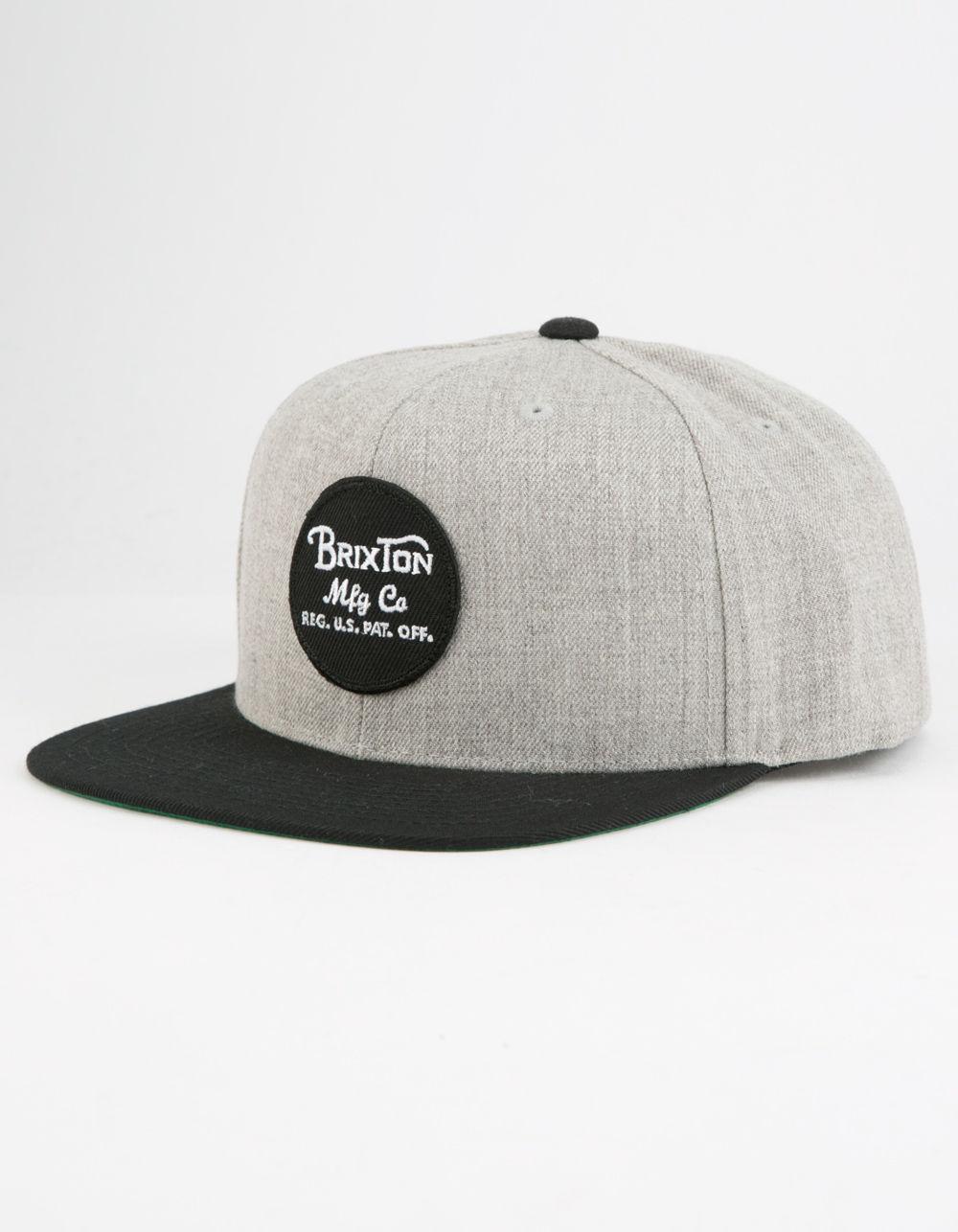 1c63b8367a0 Lyst - Brixton Wheeler Mens Snapback Hat for Men