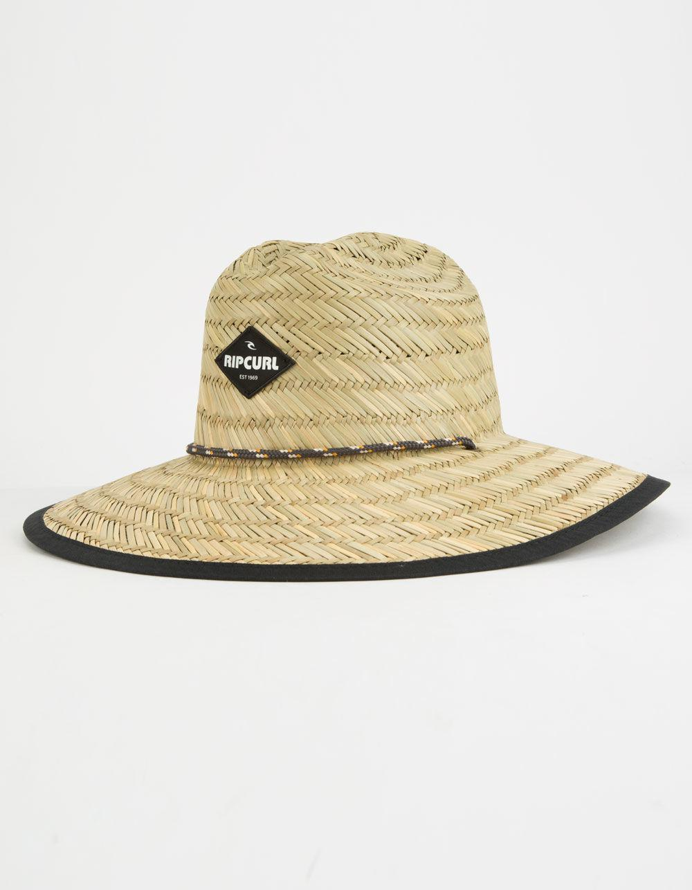 9eb7e181e90 Lyst - Rip Curl Palm Time Straw Lifeguard Hat in Natural for Men