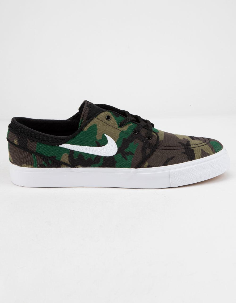 d193d5b5e6 Nike Zoom Stefan Janoski Canvas Camo Mens Shoes in Green for Men - Lyst
