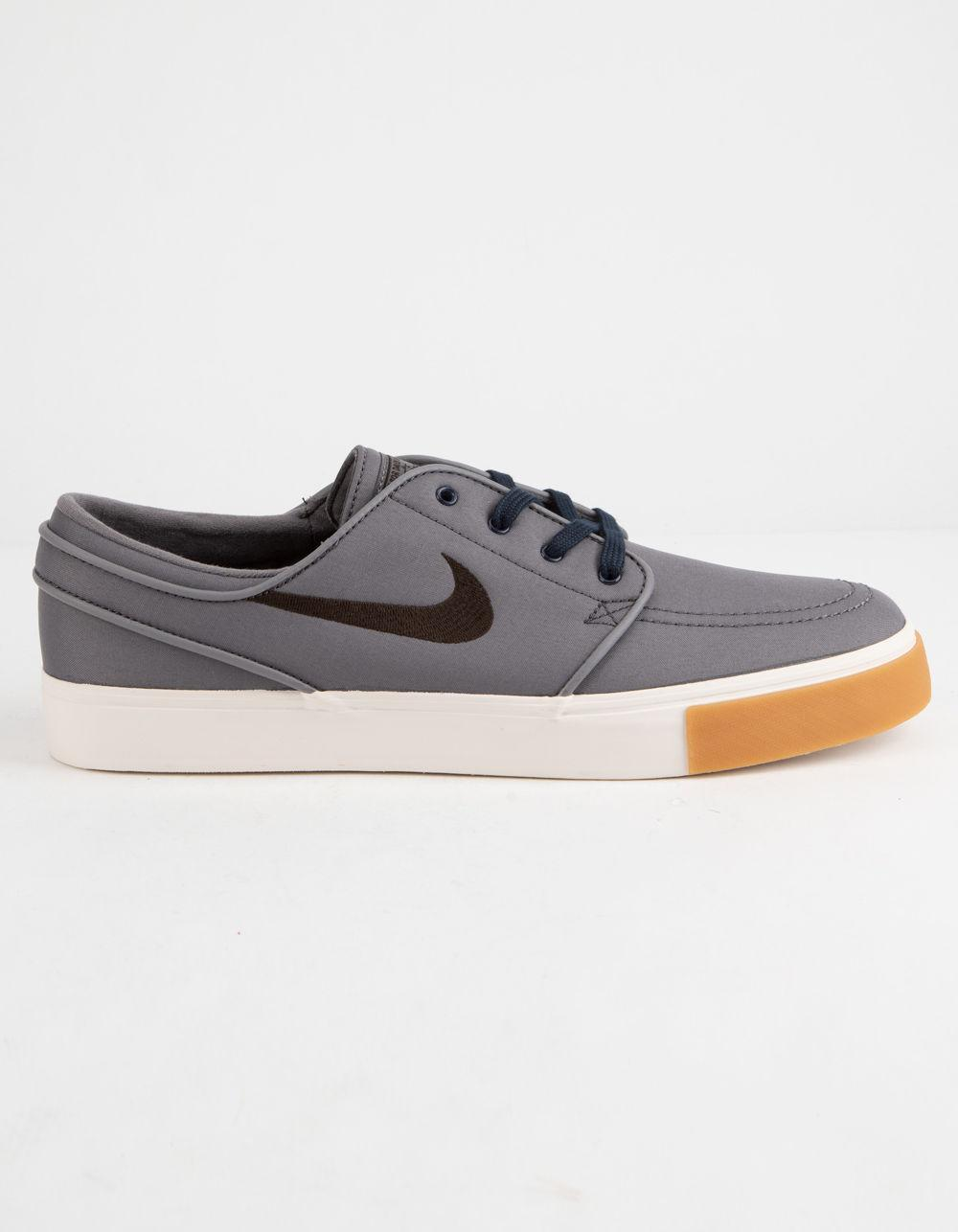 135b5756f4a1 Lyst - Nike Zoom Stefan Janoski Canvas Gunsmoke Shoes in Brown for Men
