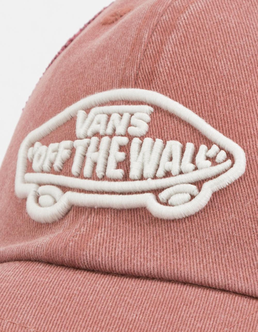 b61deb6b64a Lyst - Vans Acer Burgundy Womens Trucker Hat in Pink for Men
