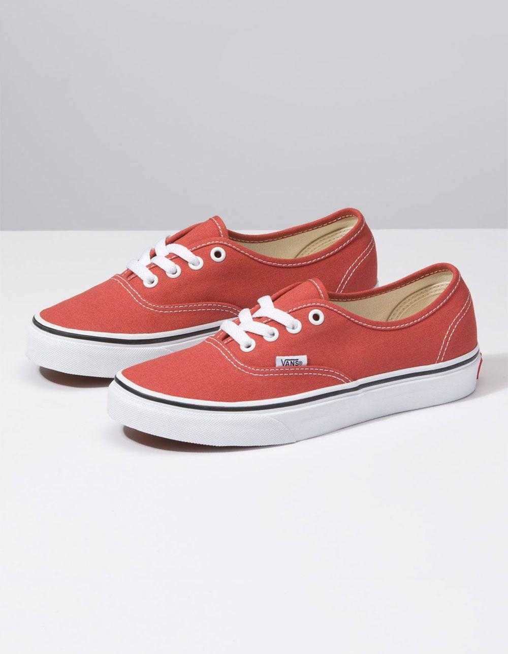 83309cd04268 Lyst - Vans Authentic Hot Sauce   True White Womens Shoes