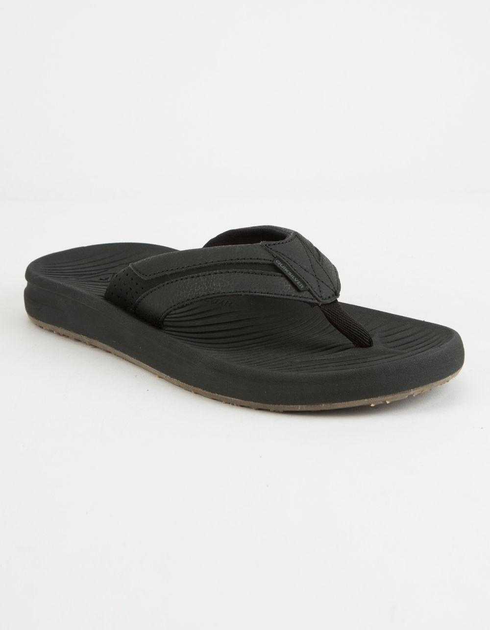 f8dc9f0358a Quiksilver - Black Travel Oasis Mens Sandals for Men - Lyst. View fullscreen