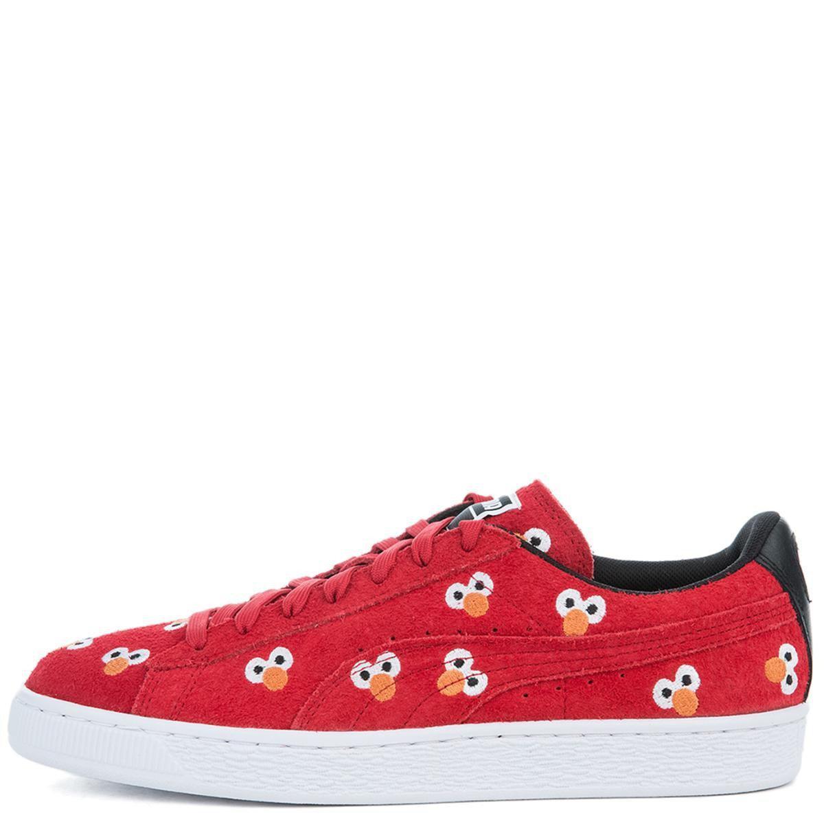 6fd098dad851bb Lyst - PUMA Unisex X Sesame Street Suede Red Sneaker in Red