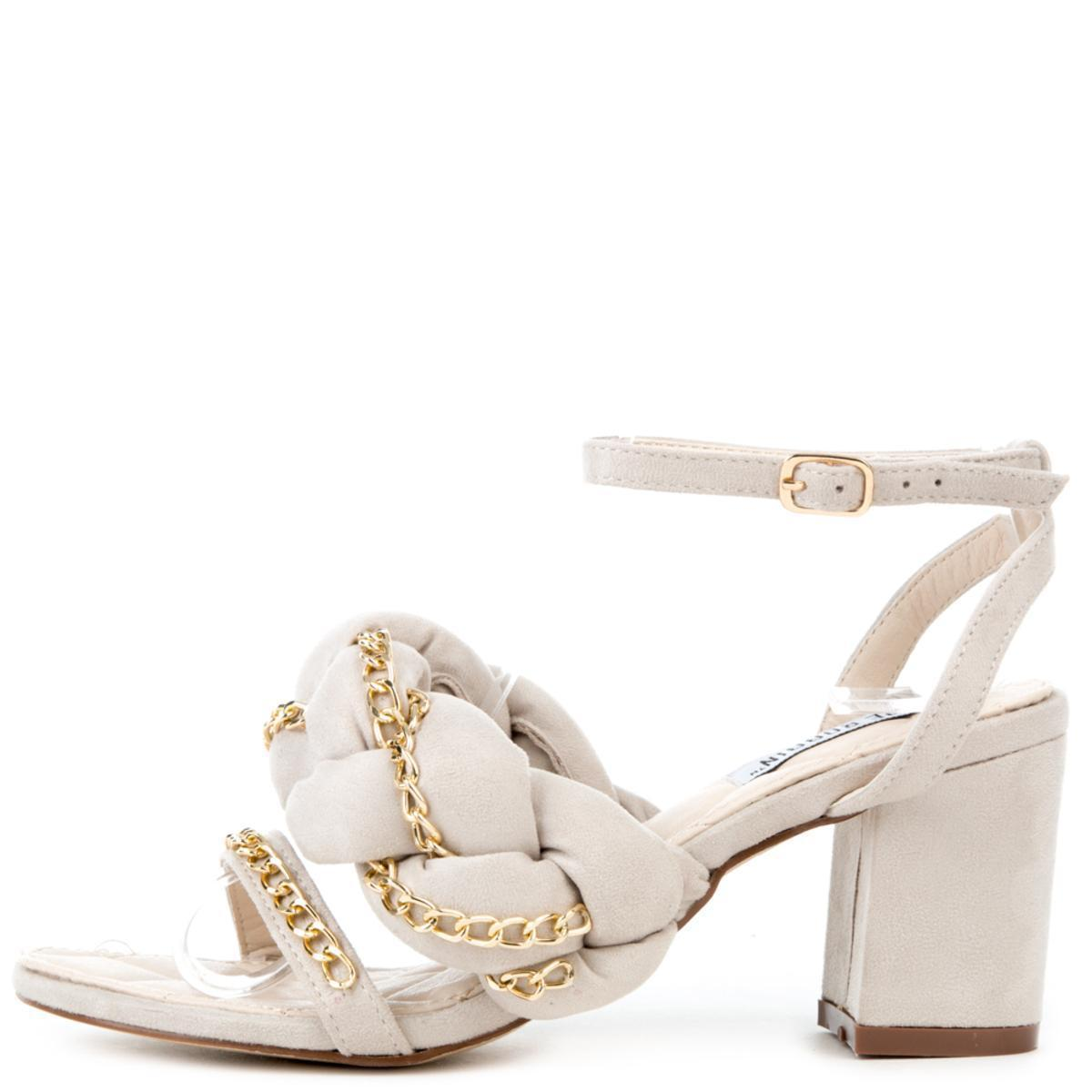 a4fcde70547 Lyst - Cape Robbin Carrie-23 Nude High Heels in Natural