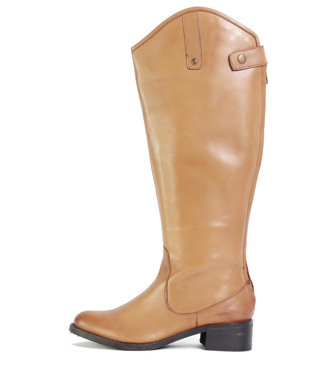Seychelles. Women's Brown Flattered Tan Knee High Boot