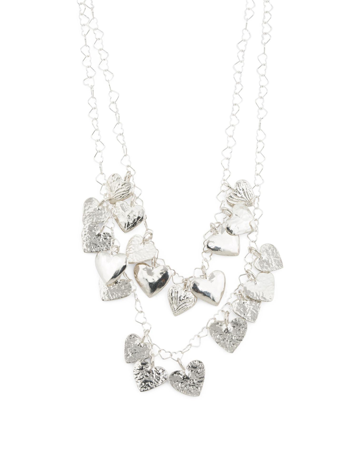 Tj Maxx Hand Sculpted In Israel Sterling Silver Hearts ...