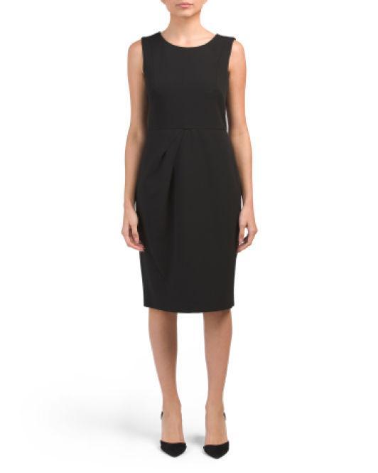 a6f26188 Lyst - Tj Maxx Crepe Cocktail Dress in Black