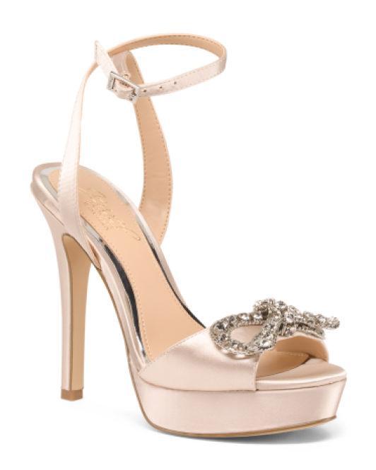 ba877c6de8b45 Lyst - Tj Maxx Platform Embellished Dress Shoes in Metallic