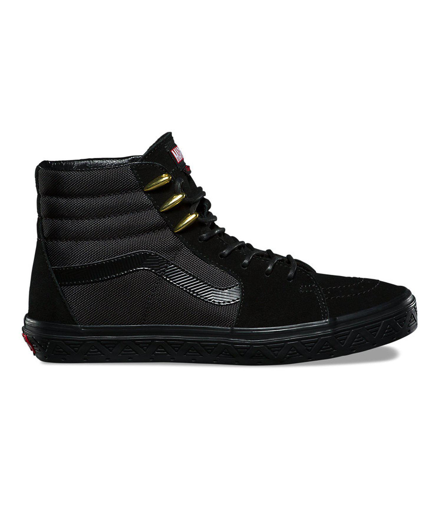 9ee20ff97 Vans X Marvel Sk8-hi in Black for Men - Lyst
