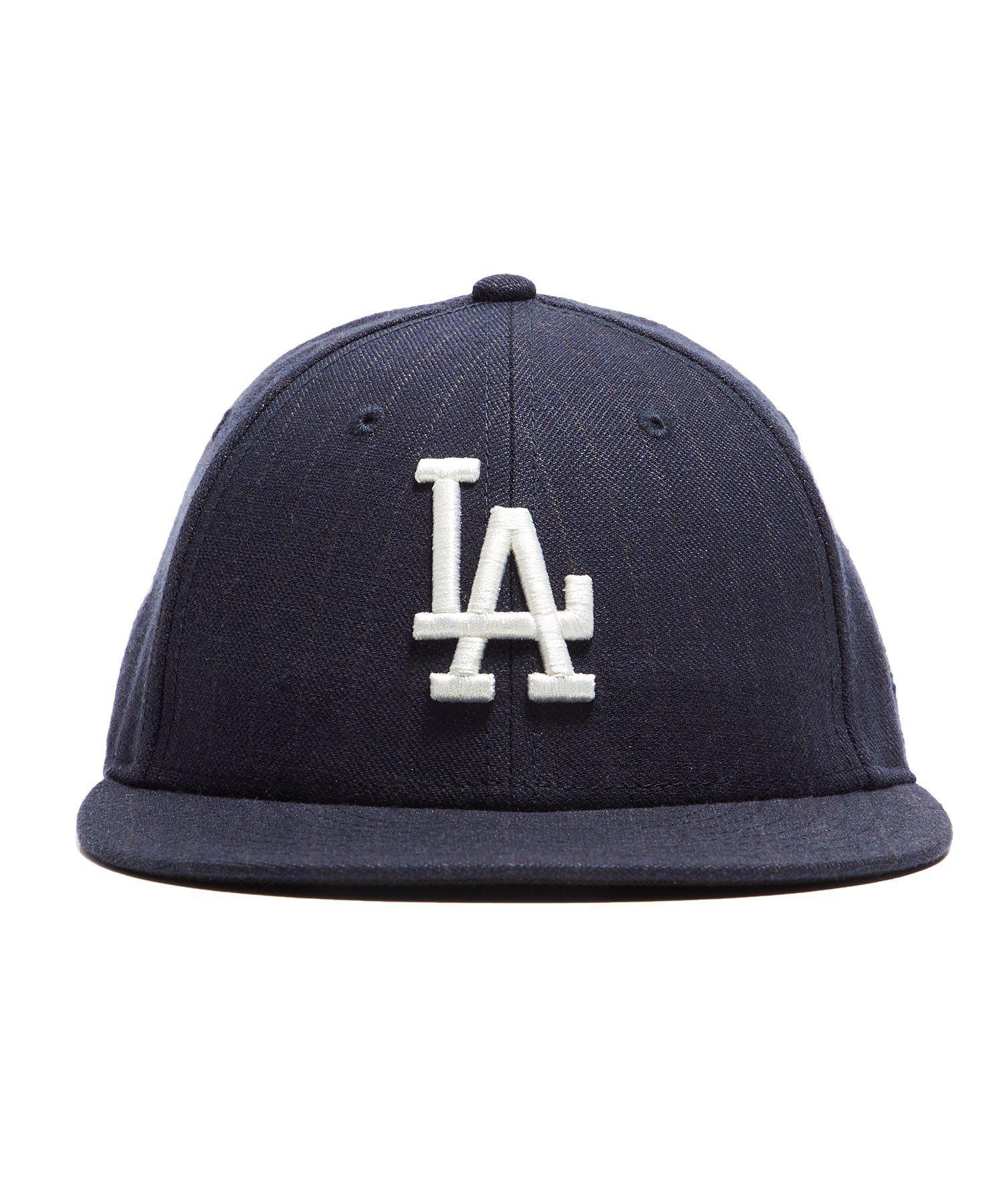 564137b12a1 Lyst - NEW ERA HATS La Dodgers Cap In Navy Pinstripe in Blue for Men