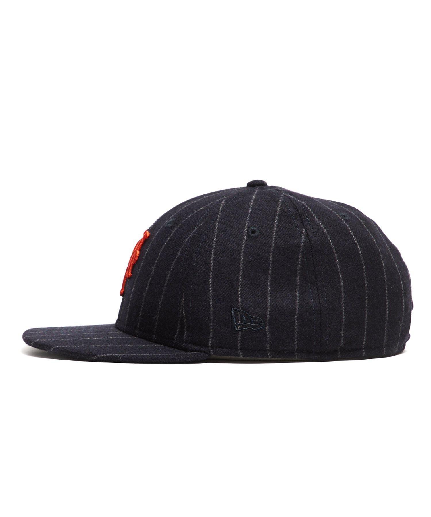 NEW ERA HATS Exclusive New Era New York Mets Cap In Abraham Moon Navy Wool  Chalkstripe in Blue for Men - Lyst 98ab2dcbe2f6