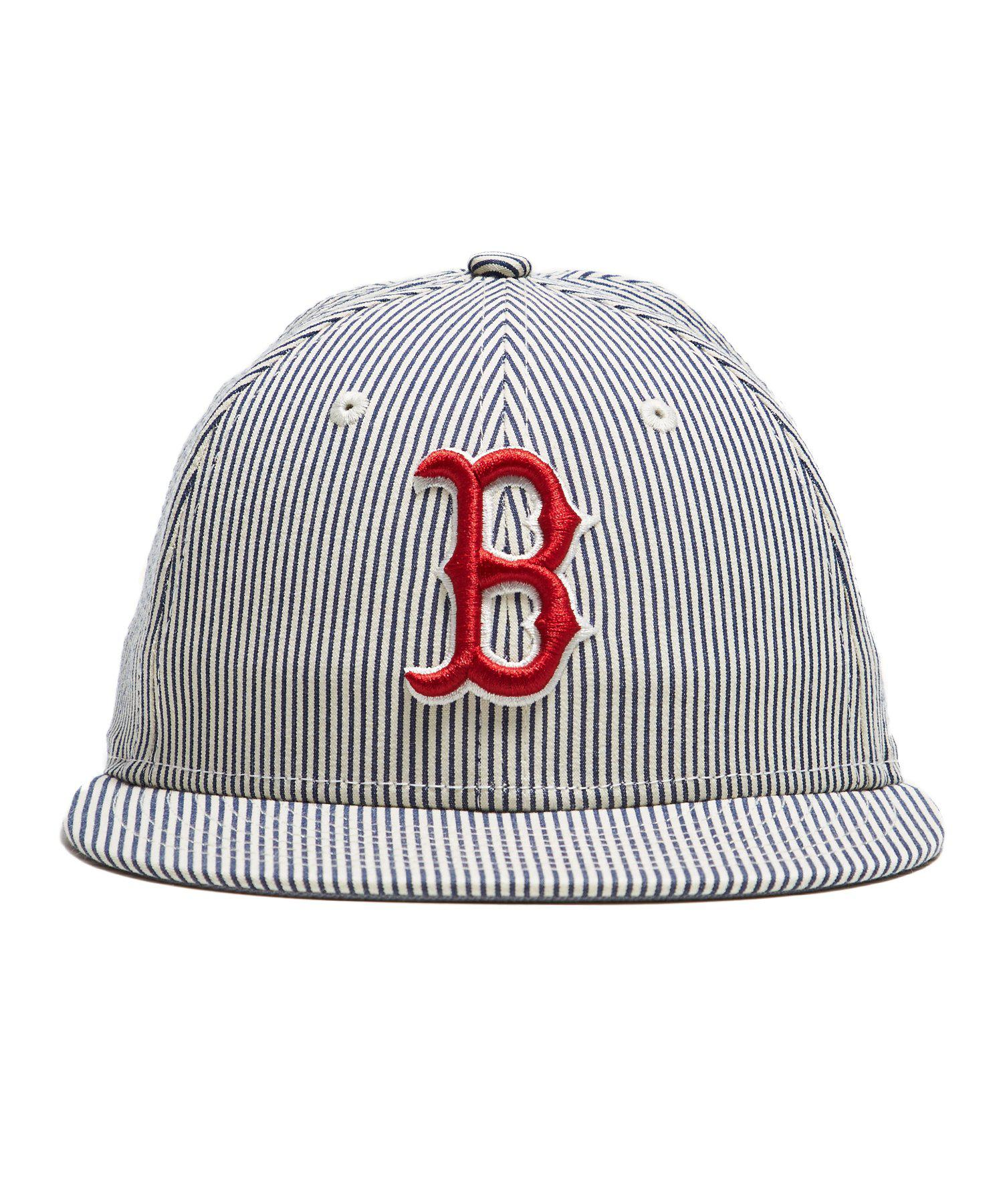 8de7ca2cb03 NEW ERA HATS. Men s Blue Boston Red Sox Cap In Seersucker. £60 £45 From Todd  Snyder ...