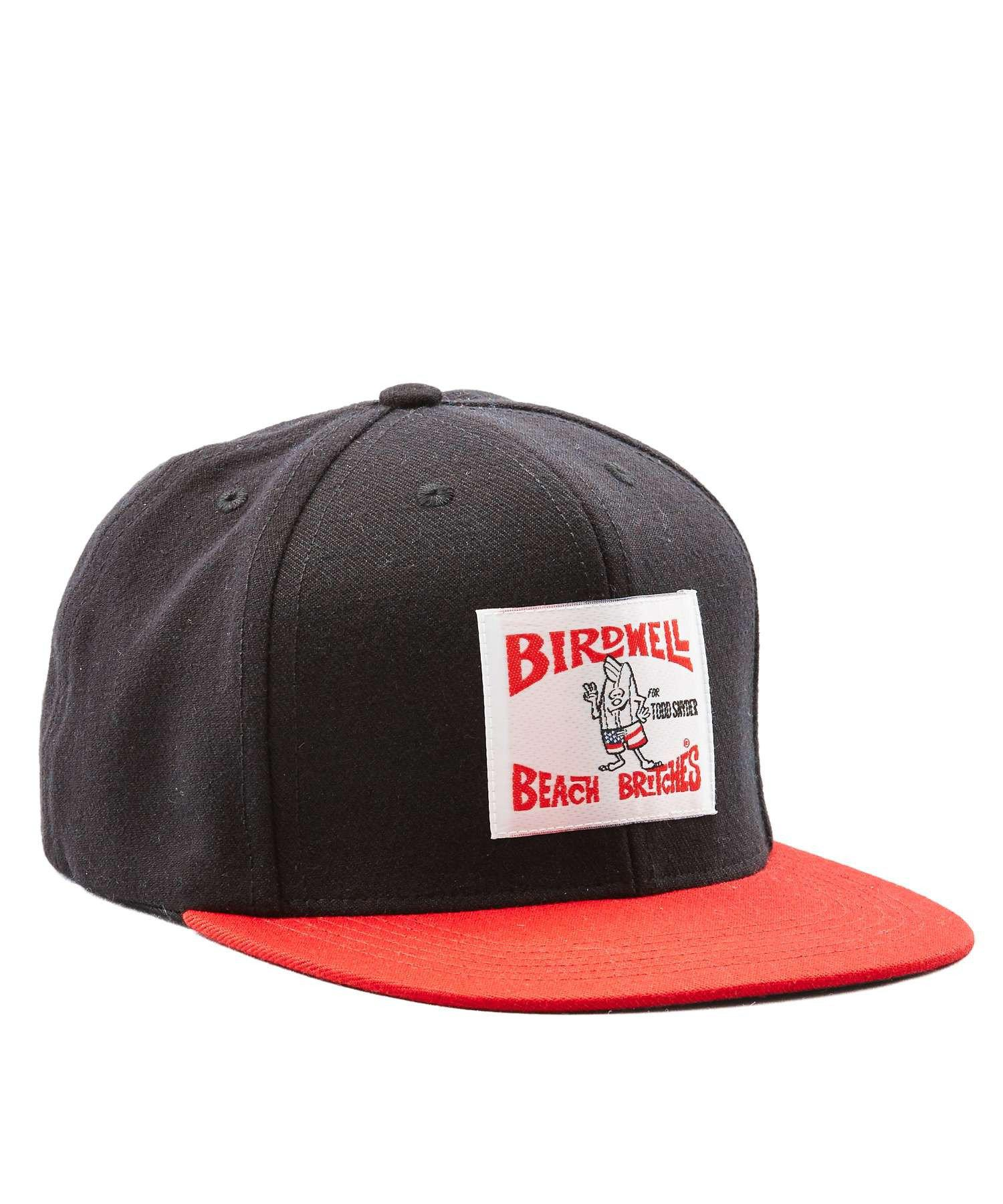 080e5d4b7d8 Lyst - Todd Snyder Exclusive Birdwell 6-panel Hat In Black With Red ...