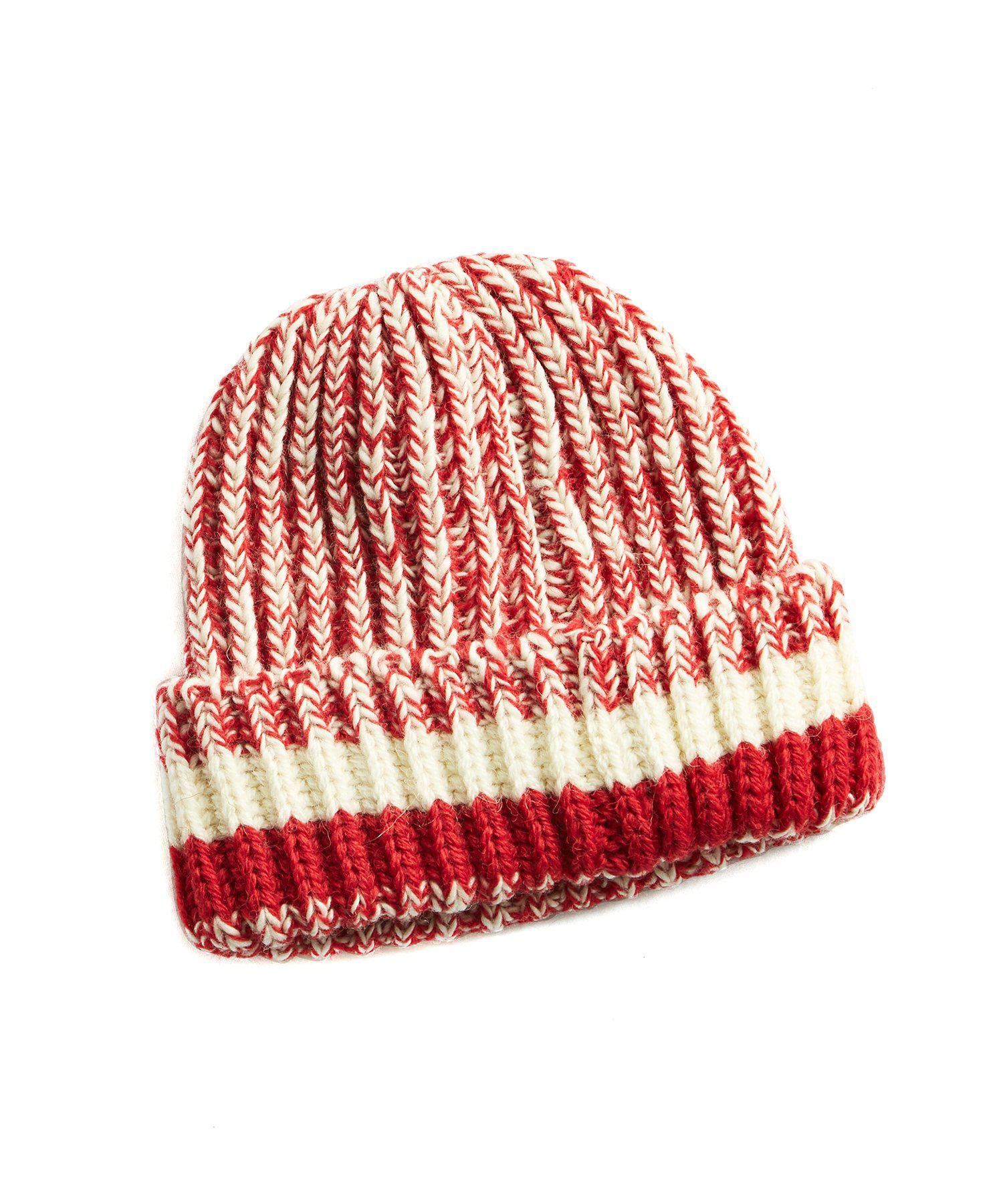 97dbef6b13c Drake S Slub Bob Cap In Red in Red for Men - Lyst
