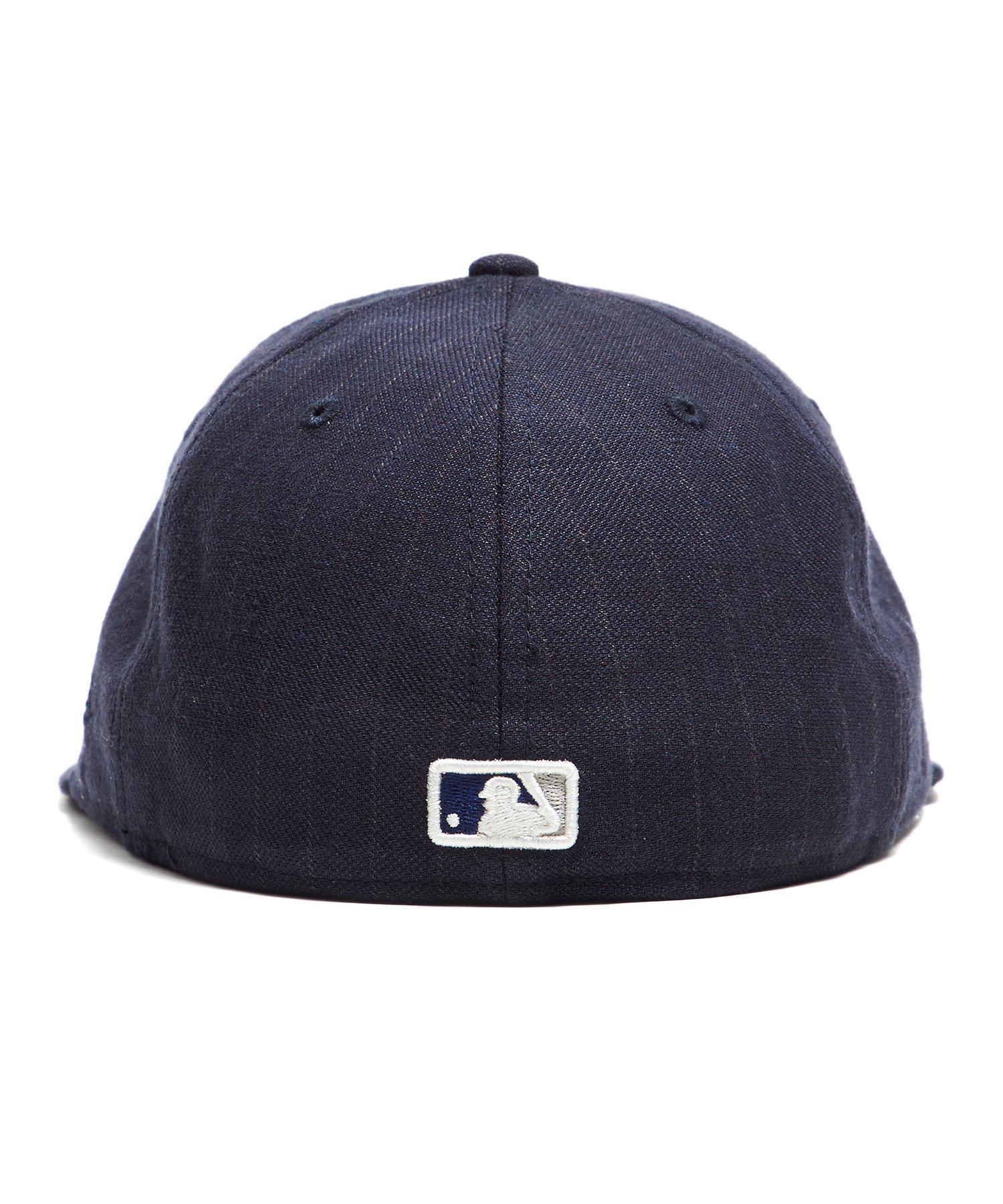 4ba0a000100 NEW ERA HATS - Blue La Dodgers Cap In Navy Pinstripe for Men - Lyst. View  fullscreen