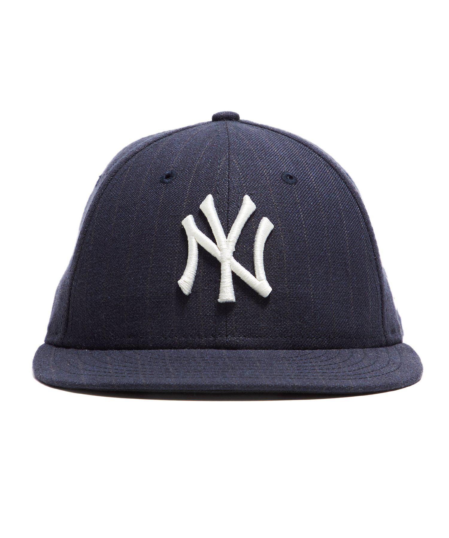 07aff883ec7 NEW ERA HATS. Men s Blue New York Yankees Cap In Navy Pinstripe. £62 £47  From Todd Snyder