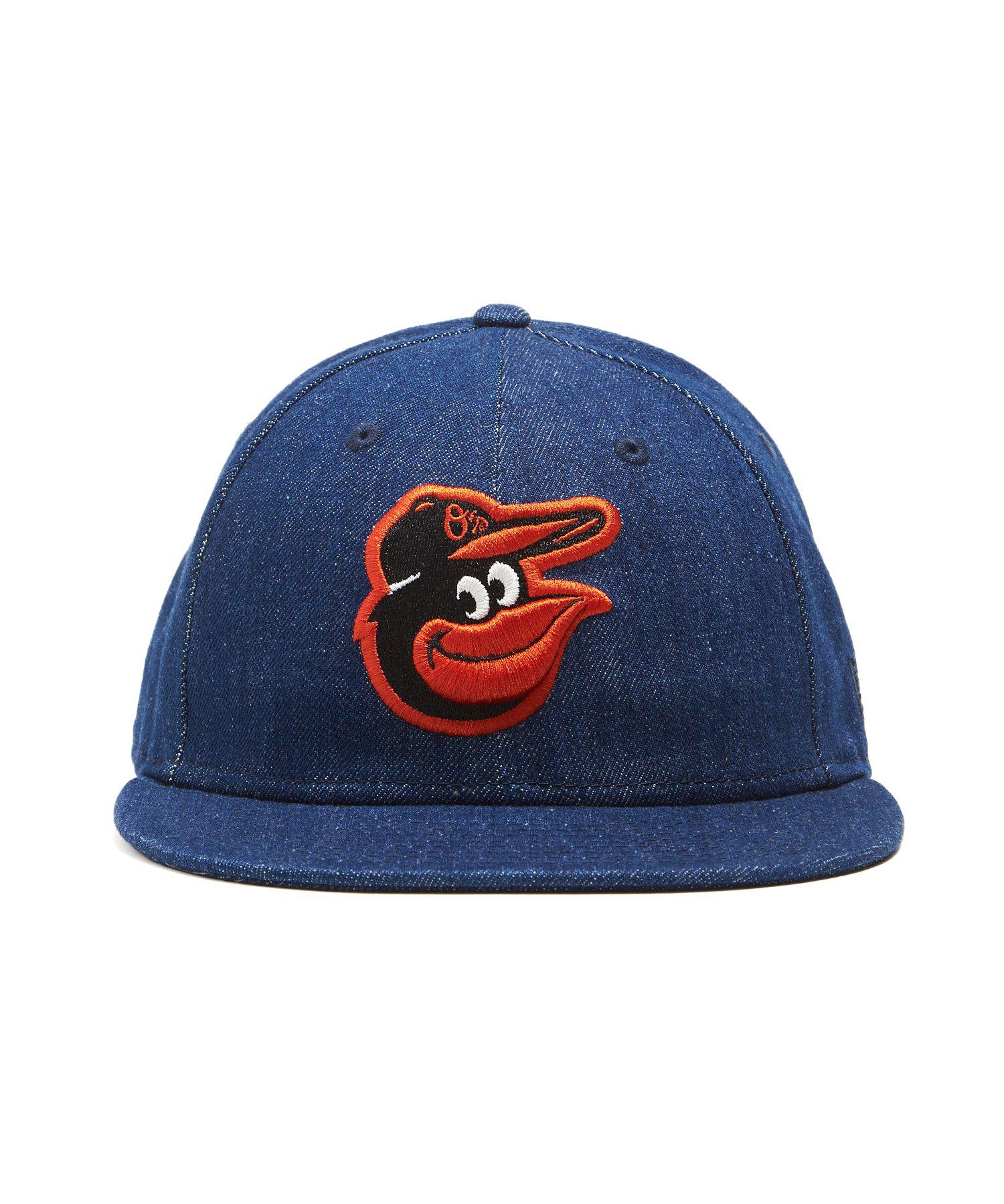 new arrival 5dd4f 225cc NEW ERA HATS Mlb Baltimore Orioles Cap In Cone Denim in Blue for Men - Lyst