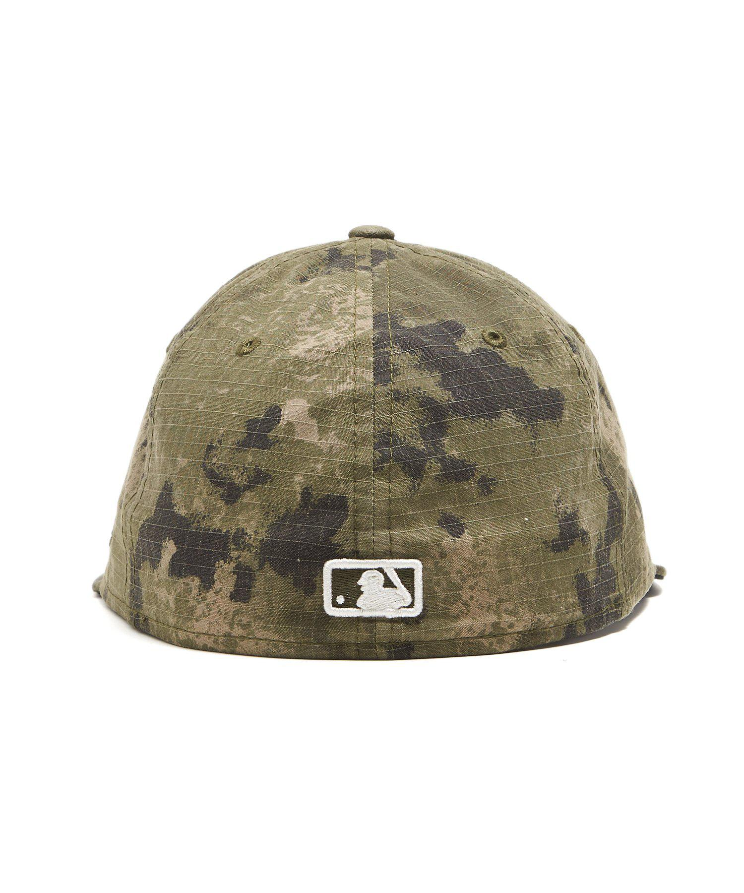 pretty nice a10dd 92924 NEW ERA HATS New York Yankees Cap In Camo Ripstop in Green for Men ...