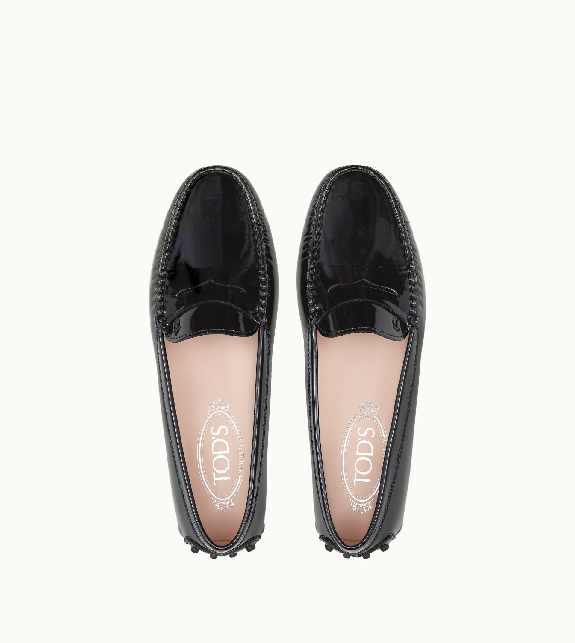 f1a97d54e70 Tod s - Black Gommino Driving Shoes In Patent Leather for Men - Lyst. View  fullscreen