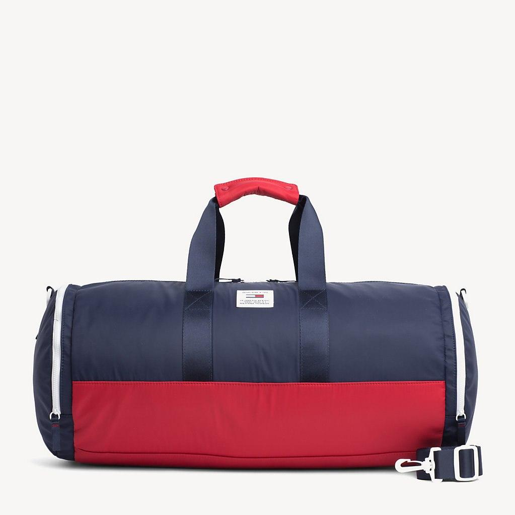fbcb87a2f31 Tommy Hilfiger Tj Tech Patch Duffel Bag in Blue for Men - Lyst