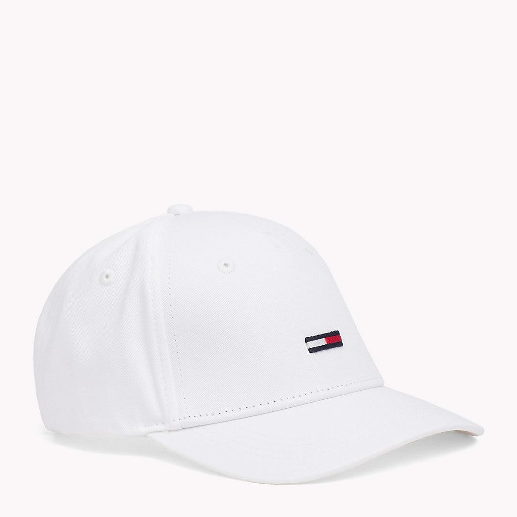 36ad897d Tommy Hilfiger Flag Front Baseball Cap in White for Men - Lyst