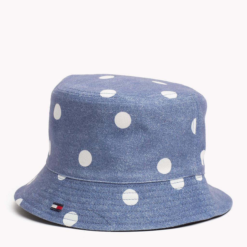 f466d68e7ed Tommy Hilfiger Kids  Reversible Bucket Hat in Blue for Men - Lyst