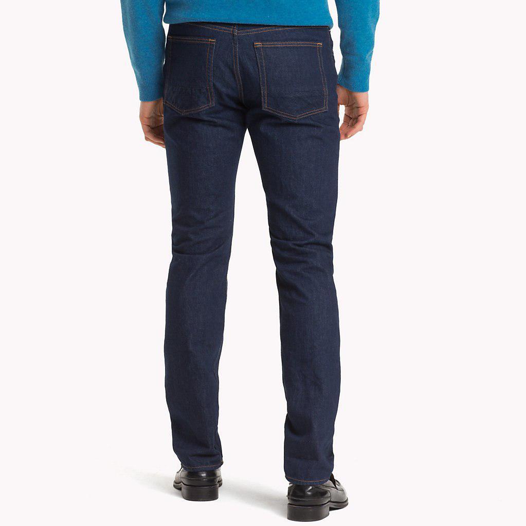 73f6d784 Tommy Hilfiger Check Mercer Regular Fit Jeans in Blue for Men - Lyst