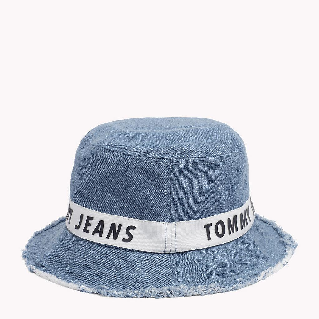 085d3906b2c Tommy Hilfiger Denim Bucket Hat in Blue for Men - Lyst