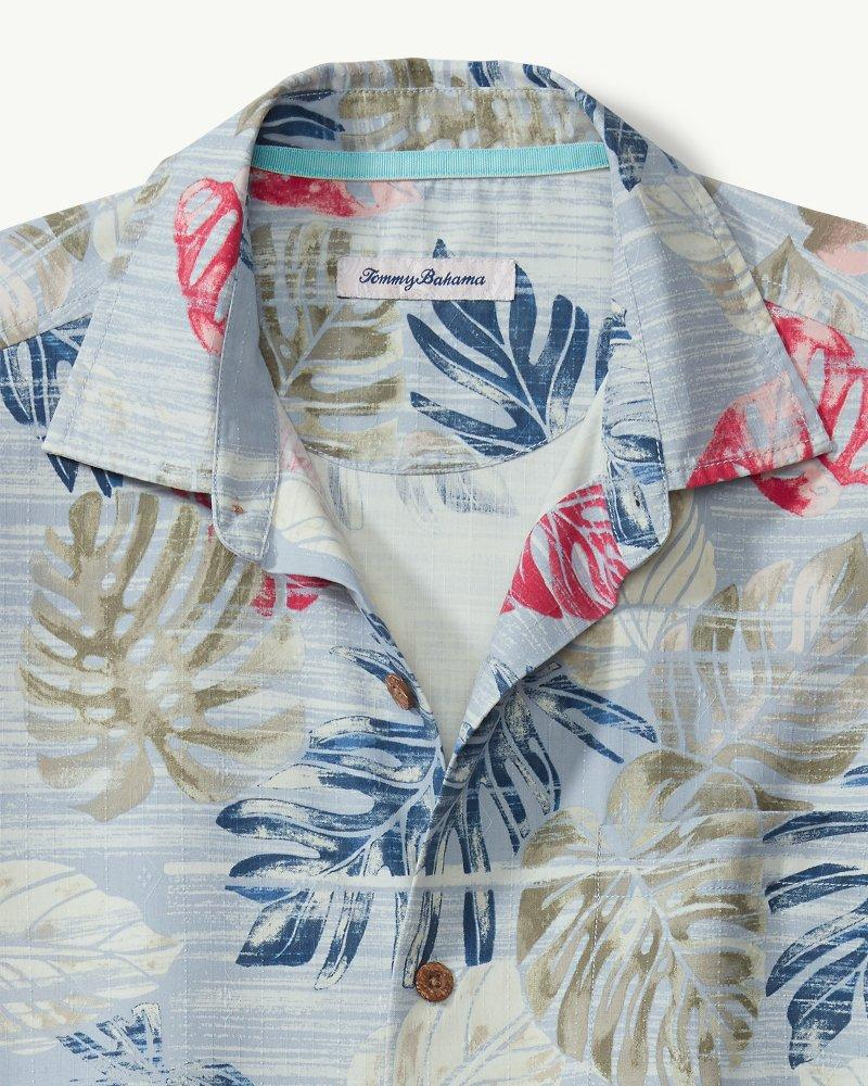 11bd6755 Lyst - Tommy Bahama Botanica Sketch Islandzone® Camp Shirt in Blue for Men
