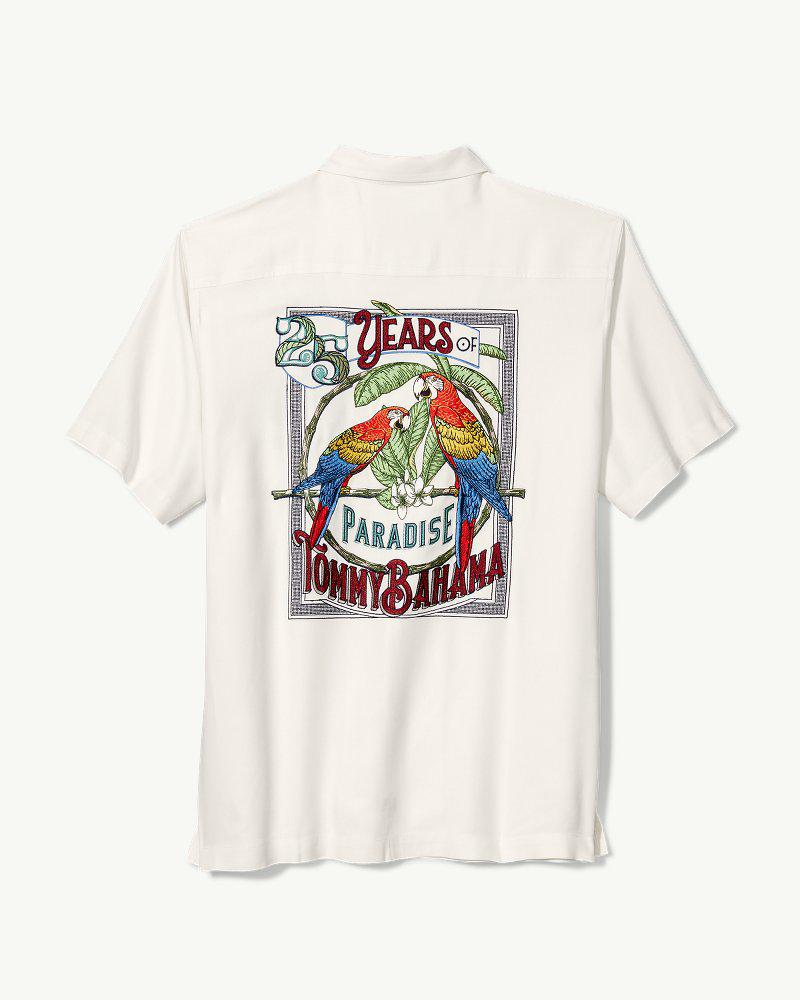 6055e0e4 Tommy Bahama Parrots Of Paradise Camp Shirt for Men - Lyst