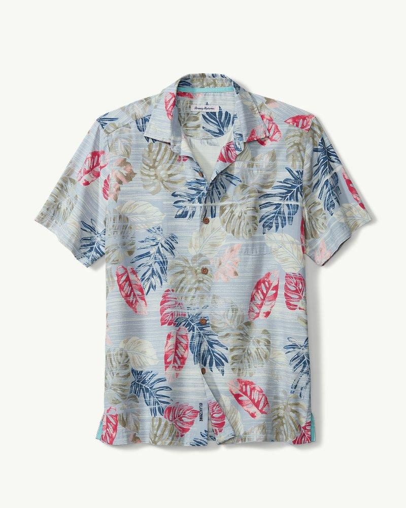 1c1e52c0 Lyst - Tommy Bahama Botanica Sketch Islandzone® Camp Shirt in Blue ...