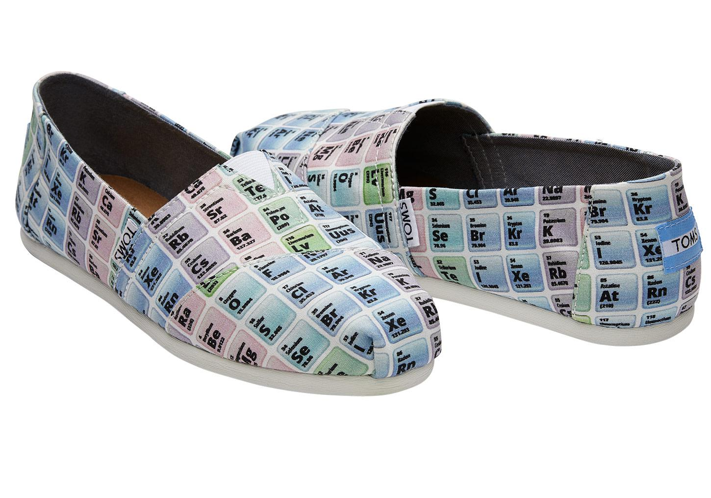 Periodic table tie gallery periodic table images toms periodic table womens classics lyst view fullscreen gamestrikefo gallery gamestrikefo Gallery