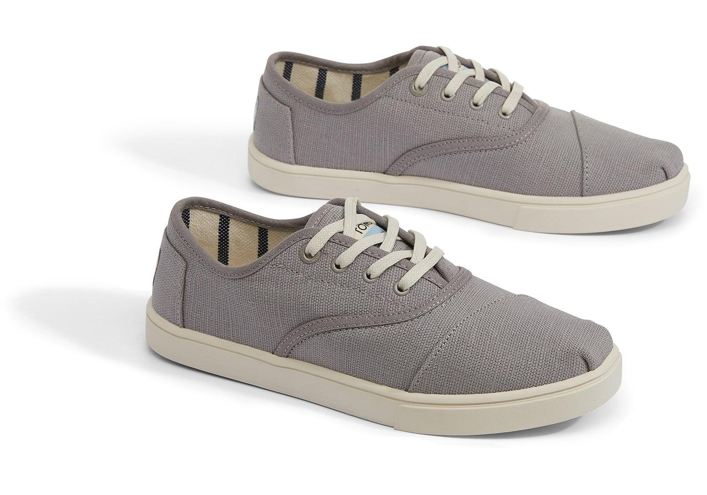 39bf68d2402 ... Morning Dove Heritage Canvas Women s Cupsole Cordones Sneakers Venice  Collection - Lyst. View fullscreen