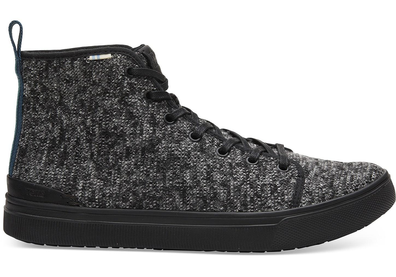 f5975820347 Lyst - TOMS Black Melange Trvl Lite High Mens Sneaker in Black for Men