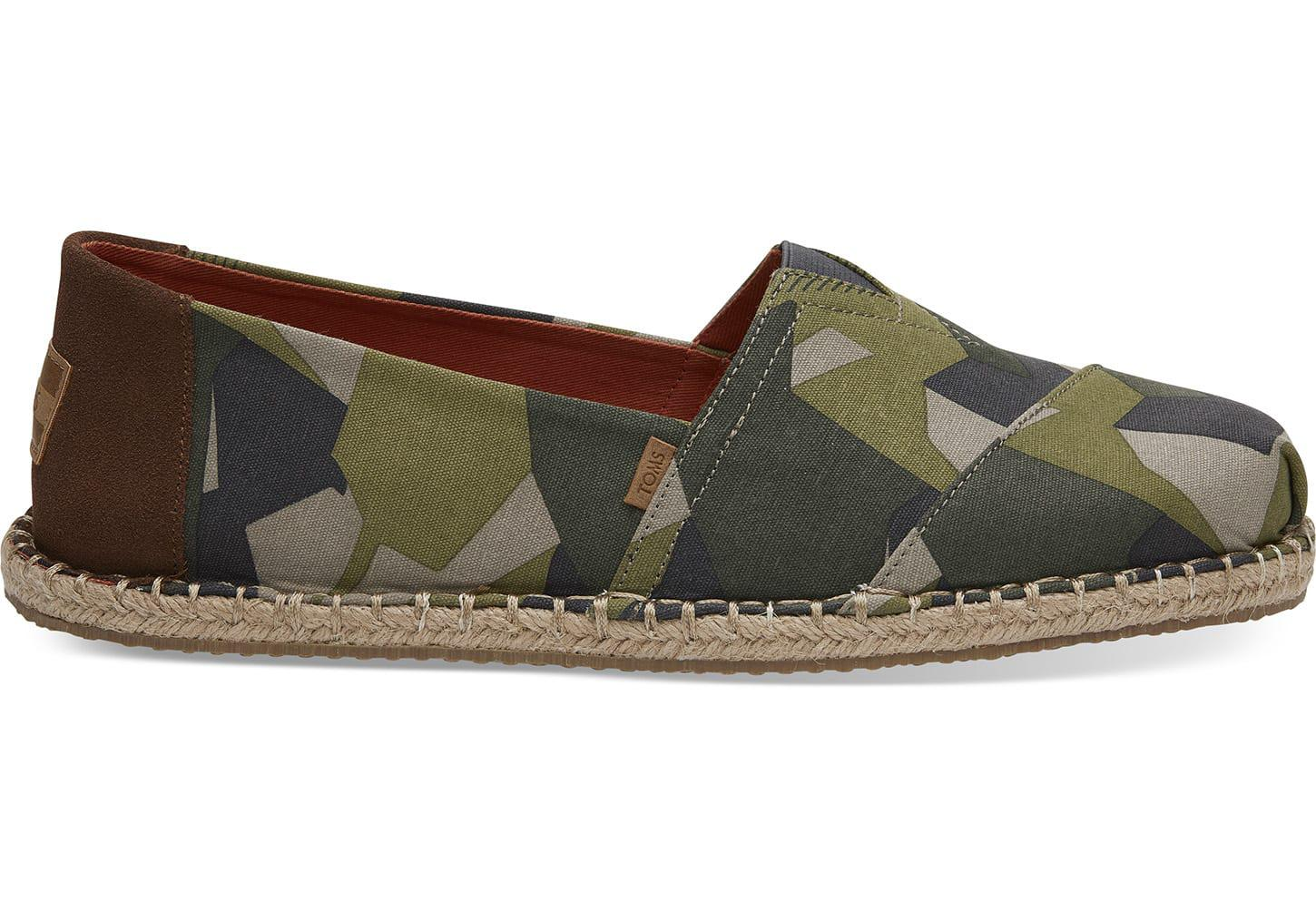 03e331b167013 TOMS Olive Camo Men's Classics in Green for Men - Save 25% - Lyst