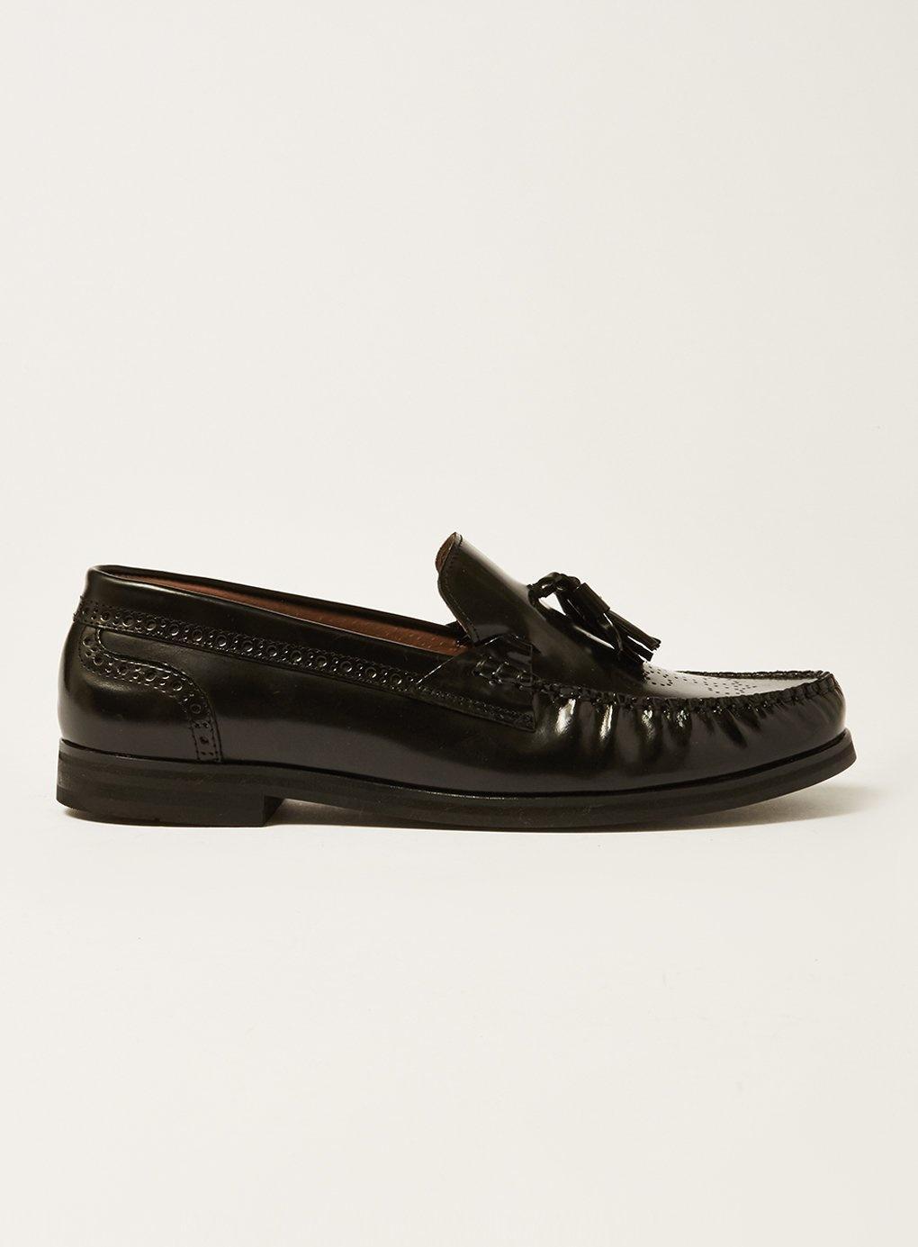 cfbda898763 House Of Hounds Sandleather Tassel Loafer in Black for Men - Lyst