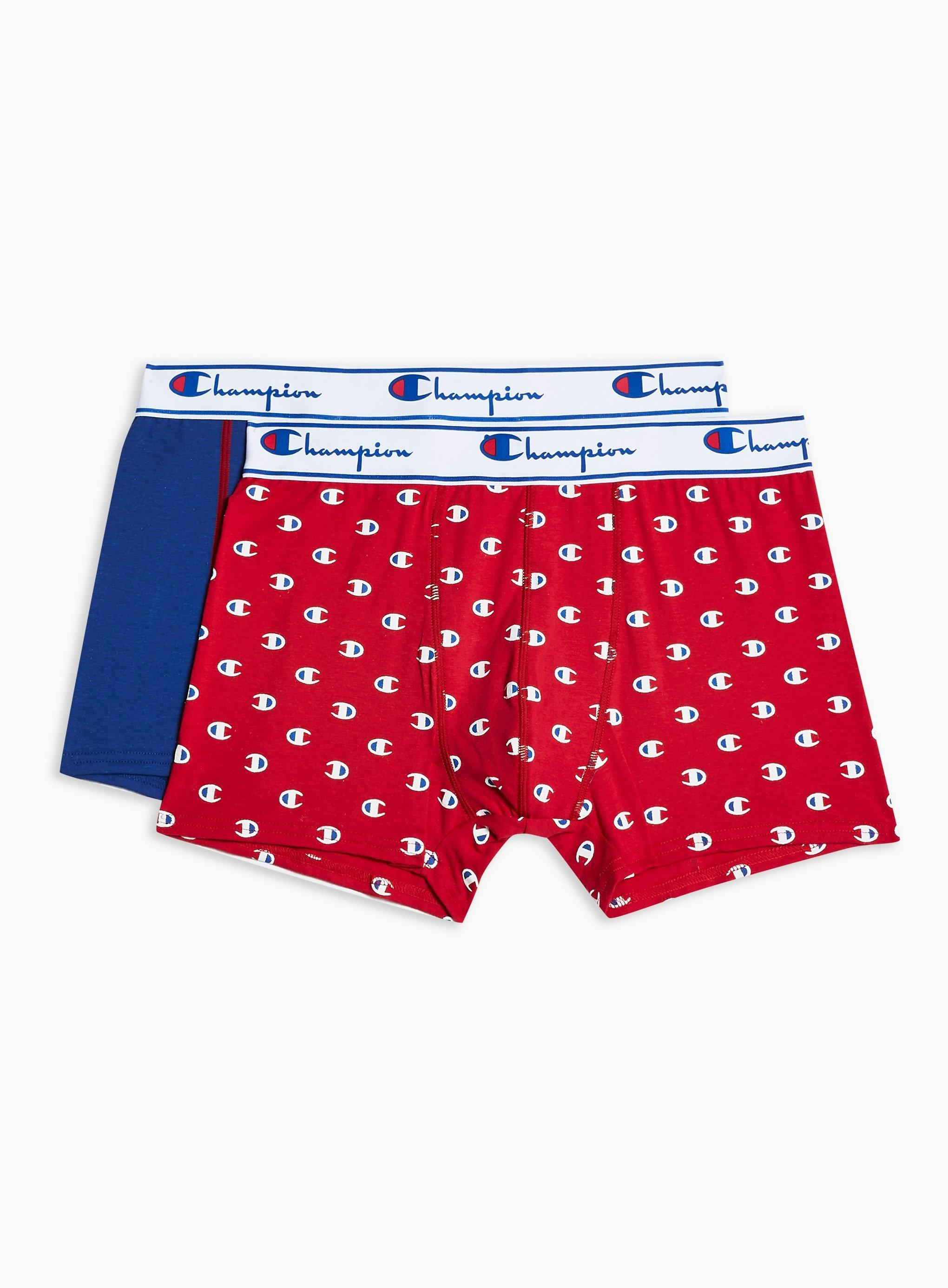 4f773ceeae Champion Red And Blue Printed Trunks 2 Pack in Blue for Men - Lyst