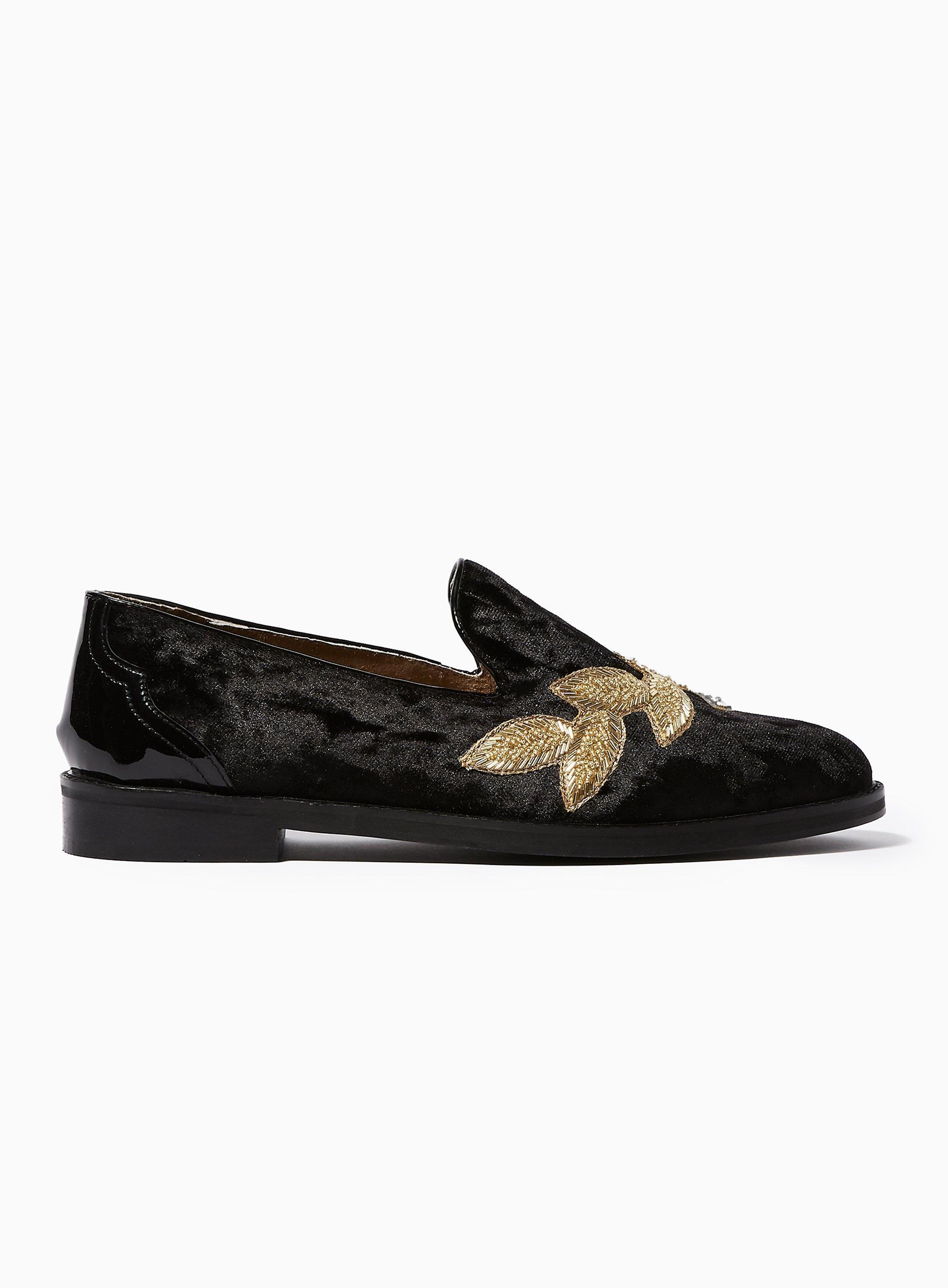 89c9b781a58 House Of Hounds Velvet Styx Brocade Loafer in Black for Men - Lyst