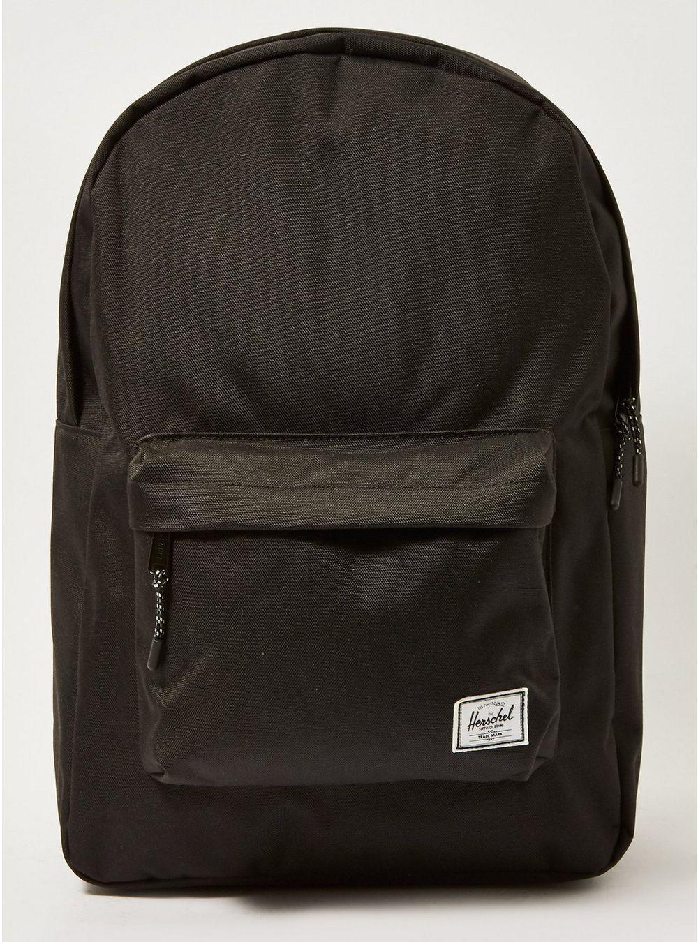 bf5774baaa92 Herschel Supply Co. Classic Black Backpack in Black for Men - Lyst