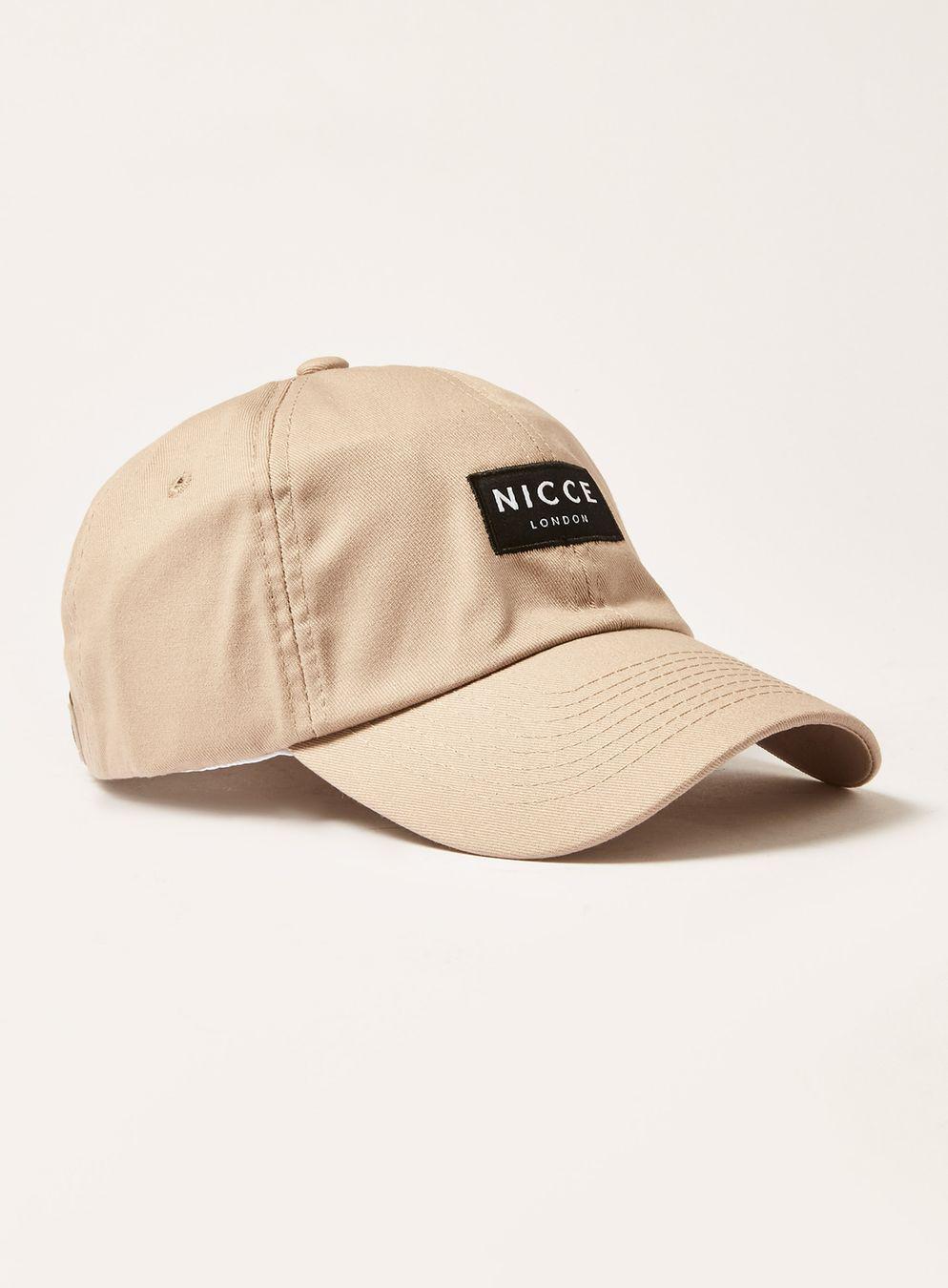 Lyst - Nicce London Tone Curve Peak Cap in Natural for Men f5d012f6fc77