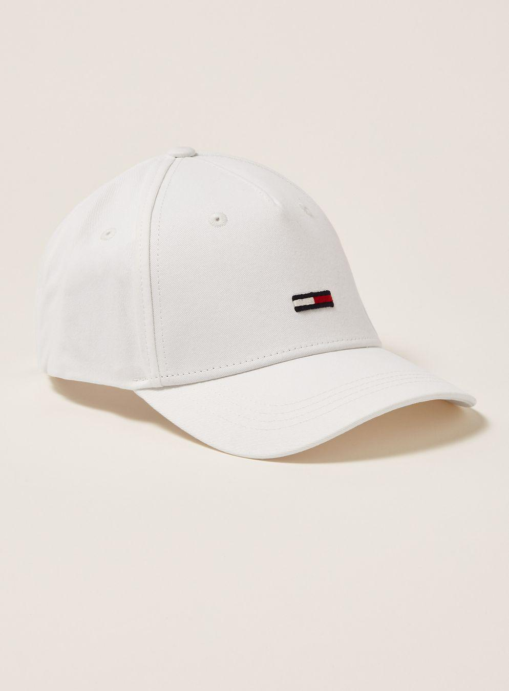 Tommy Hilfiger White Cap in White for Men - Lyst aad08a9a8ebe