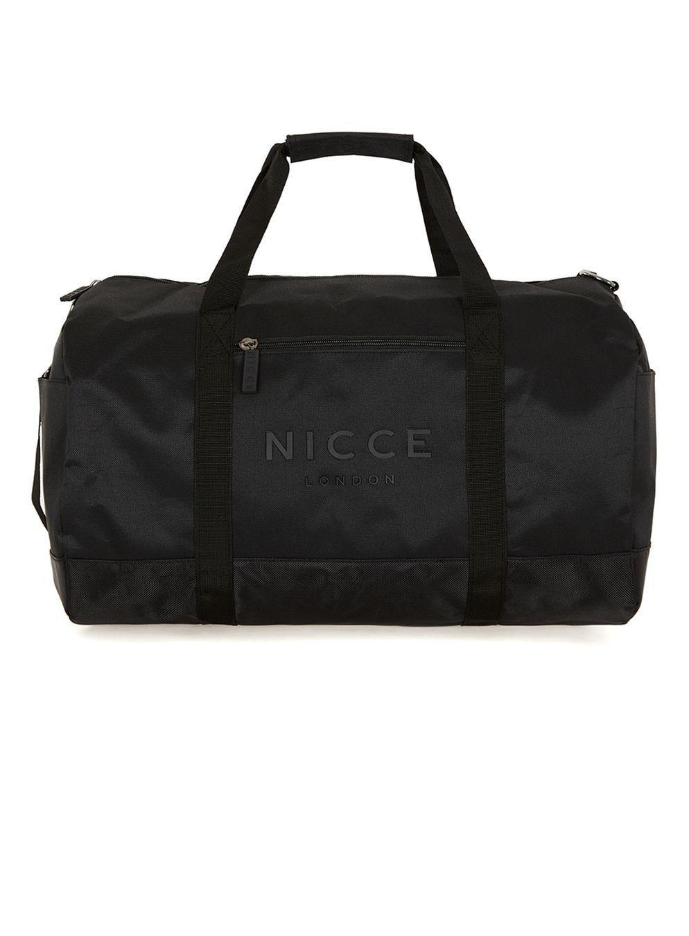 5001f3316046 Lyst - TOPMAN Duffle Bag in Black for Men