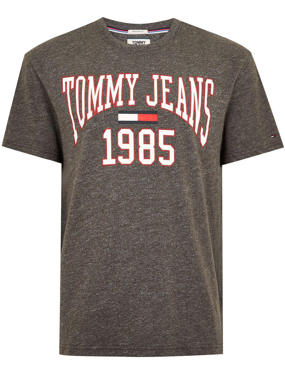 In Gray Grey College Lyst For Men T Topman Tommy Jeans Shirt qPwxUCY